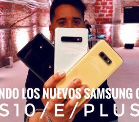 Los Samsung Galaxy S10