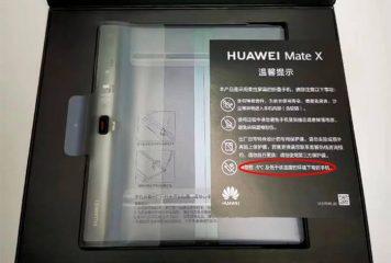 El Frío puede romper el Huawei Mate X