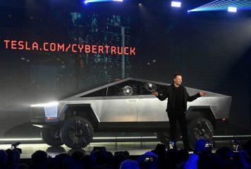 La verdad sobre el cristal roto del Cibertruck según Elon Musk.